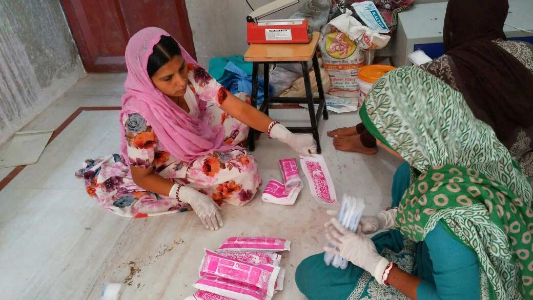 Sanitary pad project